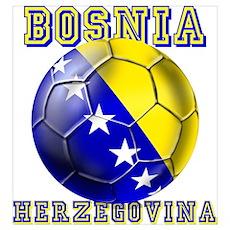 Bosnian football players Wall Art Poster
