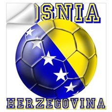 Bosnian football players Wall Art Wall Decal