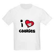 I Love Cookies Kids T-Shirt