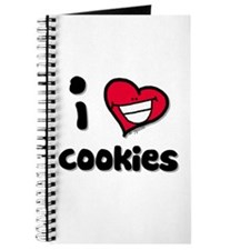 I Love Cookies Journal