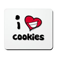 I Love Cookies Mousepad