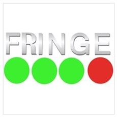Fringe: Green Green Green Red Wall Art Poster