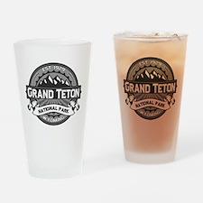 Grand Teton Ansel Adams Drinking Glass