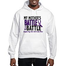 My Battle Too Pancreatic Cancer Hoodie