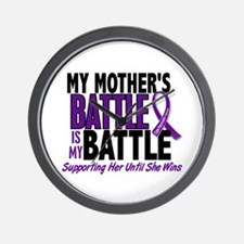 My Battle Too Pancreatic Cancer Wall Clock