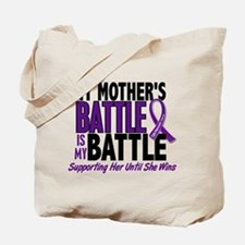 My Battle Too Pancreatic Cancer Tote Bag