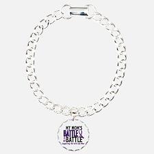 My Battle Too Pancreatic Cancer Bracelet