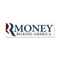 RMoney Bilking America Car Magnet