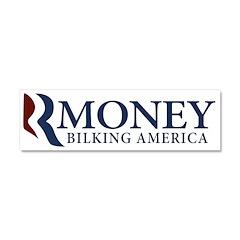 RMoney Bilking America Car Magnet