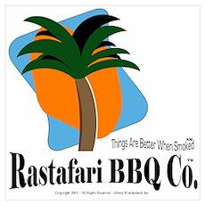 Rastafari BBQ Co. Wall Art Poster