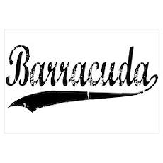 BARRACUDA Wall Art Poster