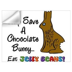 Save A Bunny Wall Art Wall Decal