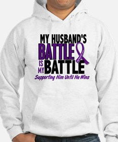My Battle Too Pancreatic Cancer Hoodie