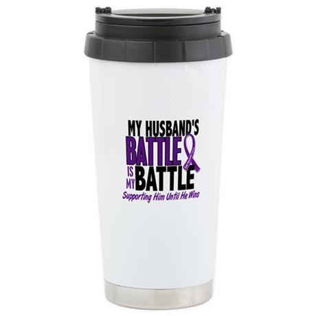 My Battle Too Pancreatic Cancer Stainless Steel Tr