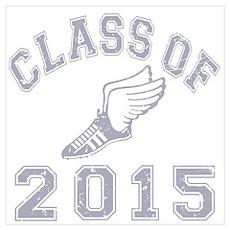 Class Of 2015 Track & Field Wall Art Poster