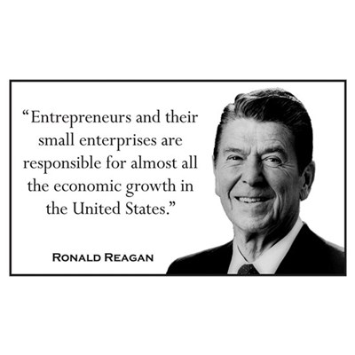 Ronald Reagan Quote #1 Wall Art Poster