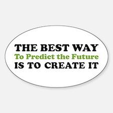 Create the Future Oval Decal