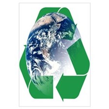 Recycle the Earth Wall Art