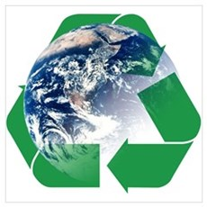 Recycle the Earth Wall Art Canvas Art