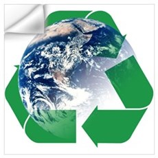 Recycle the Earth Wall Art Wall Decal