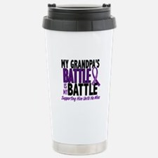 My Battle Too Pancreatic Cancer Travel Mug