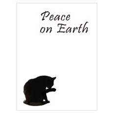 Christmas and cats Wall Art Canvas Art