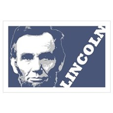 President Lincoln Wall Art Poster