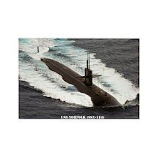 USS NORFOLK Rectangle Magnet