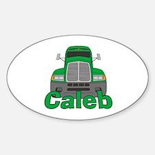Trucker Caleb Decal