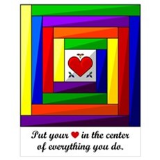 Quilt Square Wall Art Poster