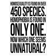 Homosexuality In 450 Species Wall Art