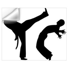 Capoeira Wall Art Wall Decal