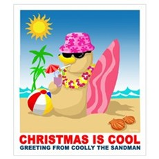 Christmas is cool Wall Art Poster