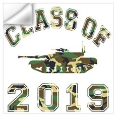Class Of 2019 Military School Wall Art Wall Decal