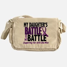 My Battle Too Pancreatic Cancer Messenger Bag