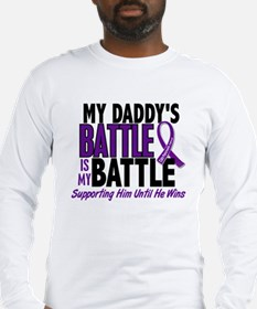 My Battle Too Pancreatic Cancer Long Sleeve T-Shir
