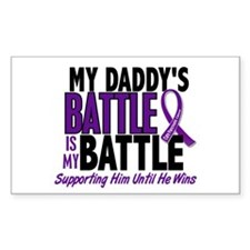 My Battle Too Pancreatic Cancer Decal
