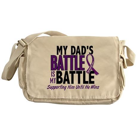My Battle Too Pancreatic Cancer Messenger Bag