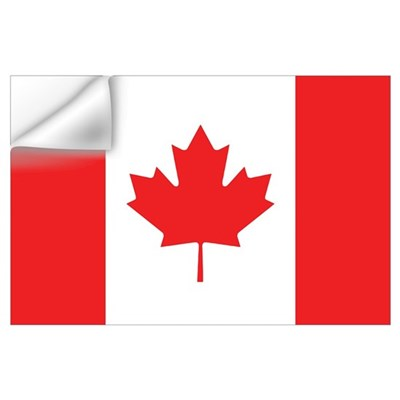 Canadian Flag Wall Art Wall Decal