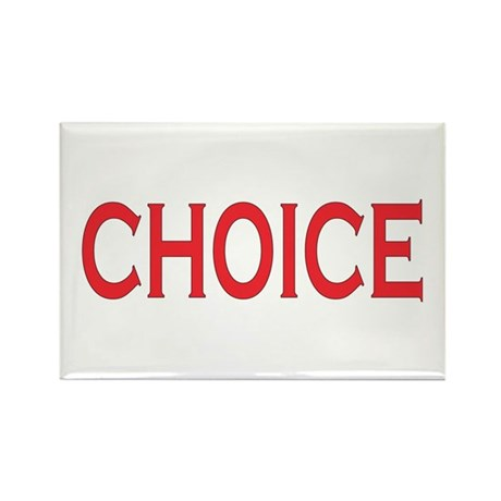 Choice Rectangle Magnet (100 pack)