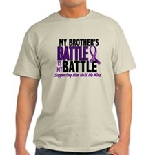 My Battle Too Pancreatic Cancer T-Shirt