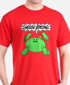 Cheesy Warriors Cheese Strong T-Shirt