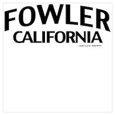 Fowler Wall Art Poster