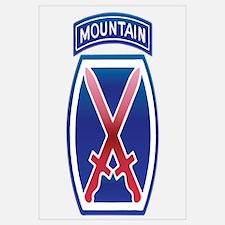 10th Mountain Division - Clim Wall Art