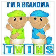 I'm A Grandma (TBB:blk) Wall Art Poster