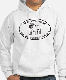 Lone star boxer rescue Hoodie
