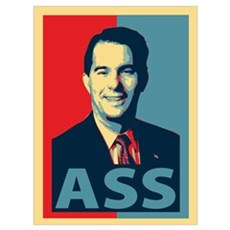 Scott Walker Ass Wall Art Poster