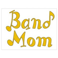 Band Mom 2 Wall Art Framed Print