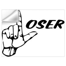 Loser Wall Art Wall Decal