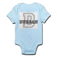 Letter D: Durban Infant Creeper